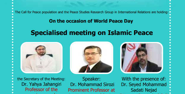 The Call for Peace population holding:
